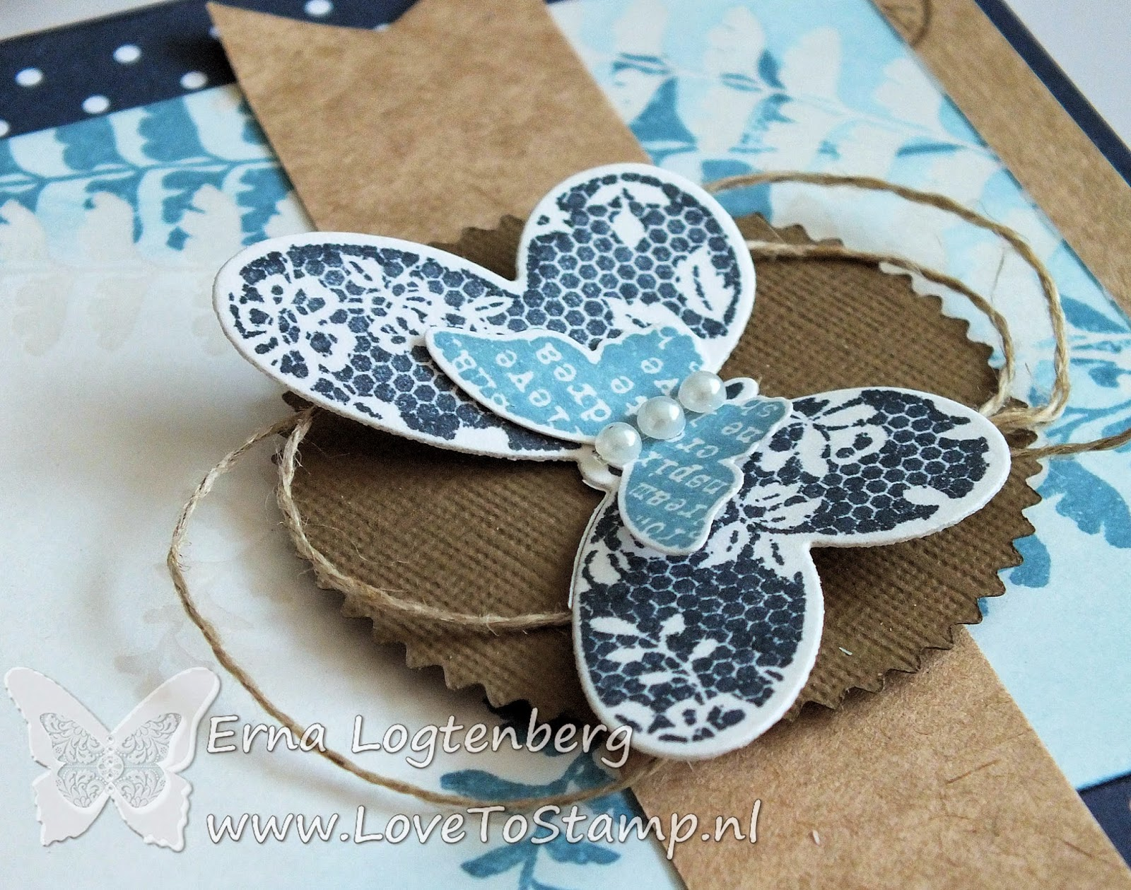stampin up Stampin'Up! Butterfly Basics Erna Logtenberg