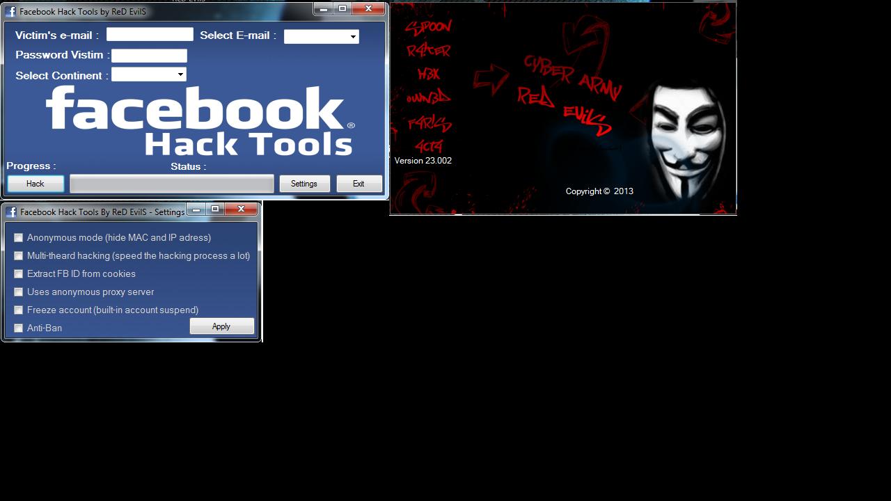 Facebook hacker ultimate new update 2017 password