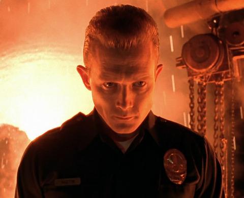T 1000 Terminator ... playing the advanced prototype terminator t 1000 in the 1991 sci fi