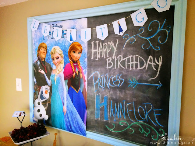 Anna, Elsa, Olaf, Christoph, decorations, let it go, banner