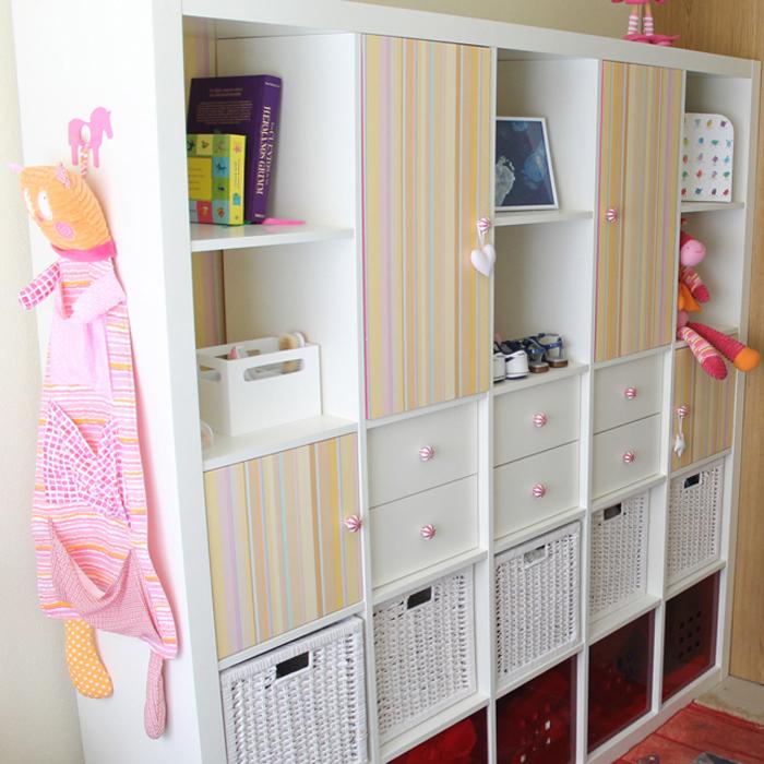 C mo convertir una estanter a expedit en un armario mi for Ikea puertas para estanterias