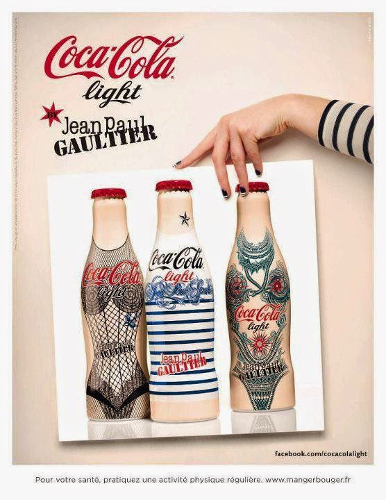 Publicidad Creativa: Coca Cola Jean Paul Gaultier