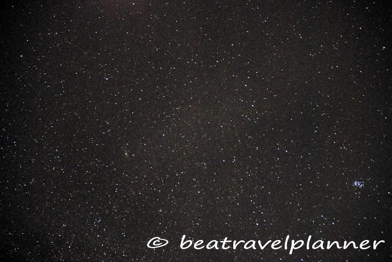 Cielo stellato nel deserto - Tunisia