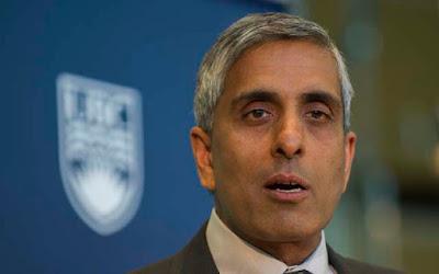 UBC president Arvind Gupta