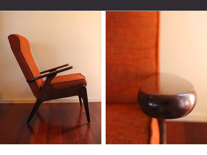 Incroyable Available: Pair Of Mahogany Airest Rocket Chairs