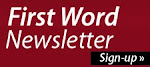 Newsletter - First Word - Sign Up