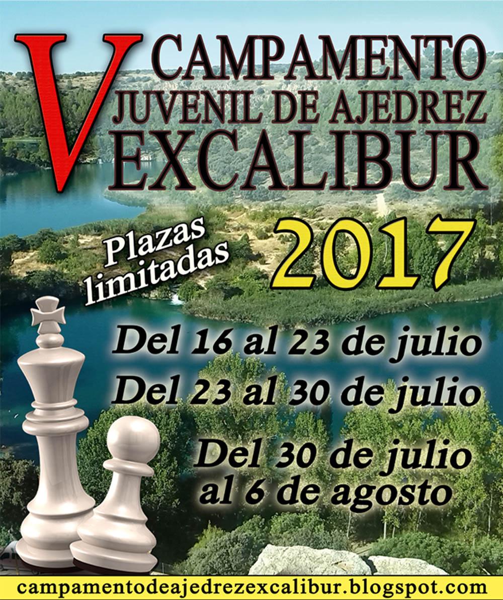 Campamento Juvenil de Ajedrez C.D.E. Excalibur