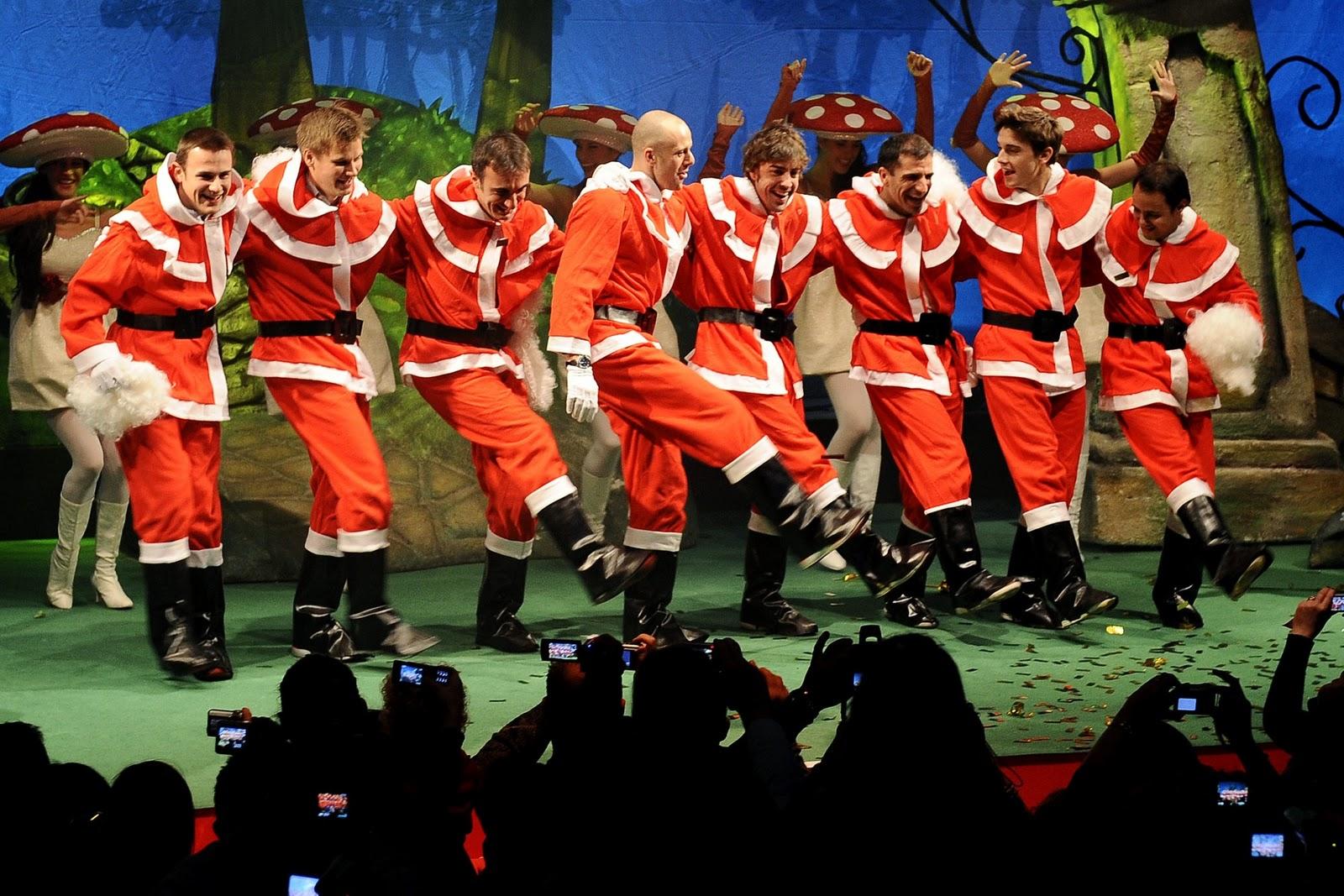 2011 ferrari f1 christmas party in photos for Ferrari christmas
