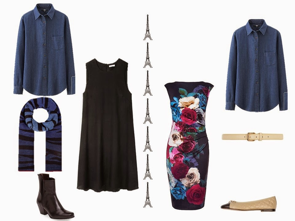 Can you wear a denim shirt under a dress, or over a dress, as a jacket? Yes!