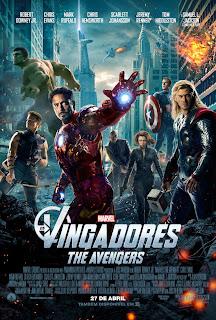 Pôster/capa/cartaz nacional de OS VINGADORES - THE AVENGERS (The Avengers)