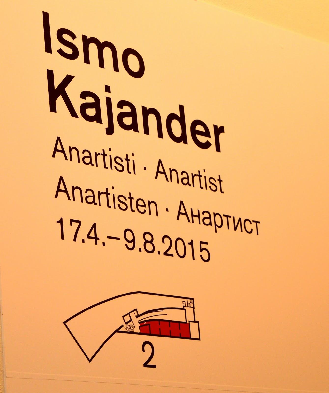 Ismo Kajander Anartisti