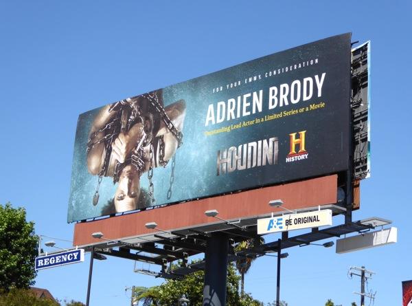 Houdini Adrien Brody 2015 Emmy billboard