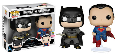 San Diego Comic-Con 2015 Exclusive Batman v Superman: Dawn of Justice Pop! Vinyl Figure Box Set by Funko