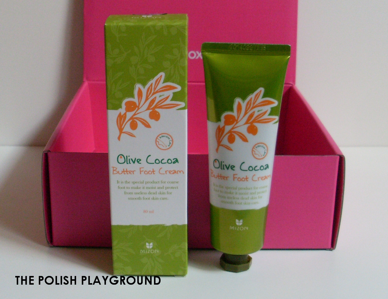 Memebox Superbox #76 While You Were Sleeping Unboxing - Mizon Olive Cocoa Butter Foot Cream