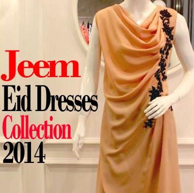 Jeem Eid Dress Collection 2014 | Jeem Formal Dresses for Summer 2014