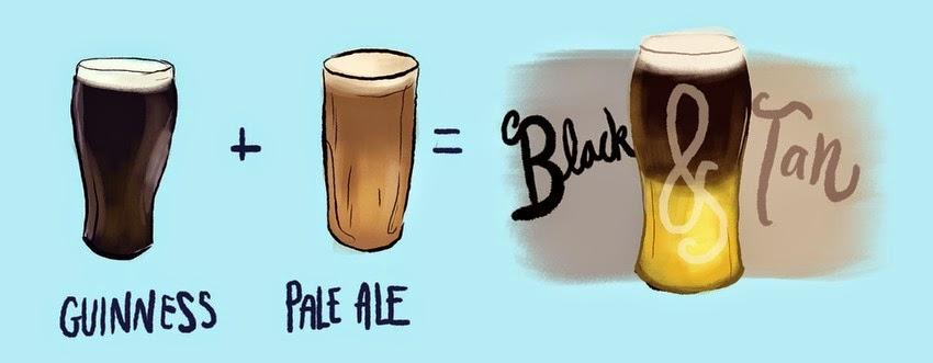 Black&Tan coctel cerveza