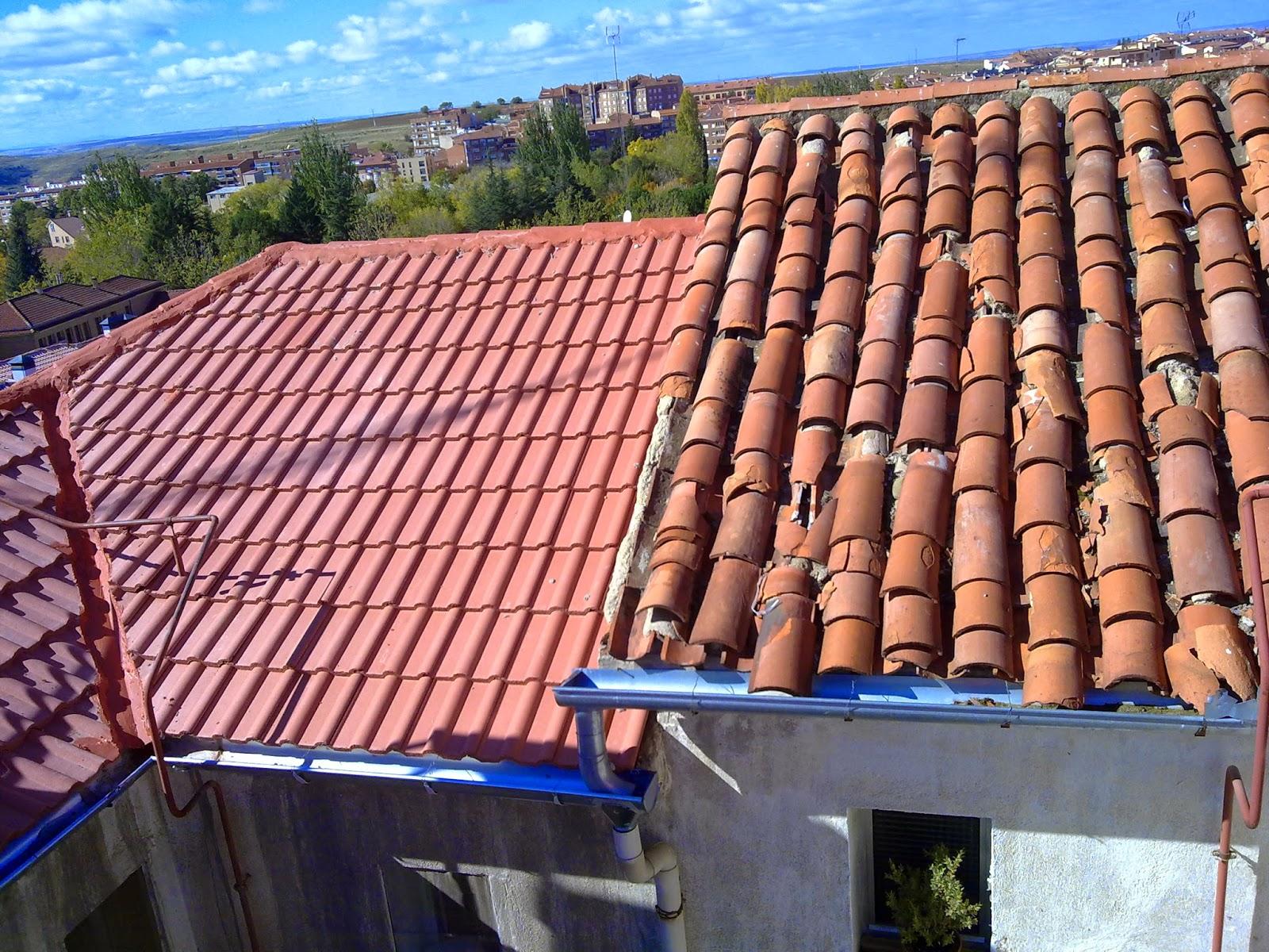 Retejar tejados de teja trabajos en vertical madrid for Tejados de madera economicos