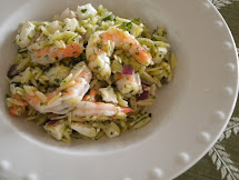 Roasted Shrimp Pasta Salad