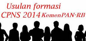 Jabatan Formasi Pendaftaran CPNS 2014