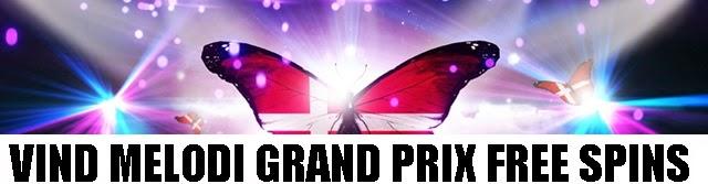 Gratis spins til Melodi Grand Prix