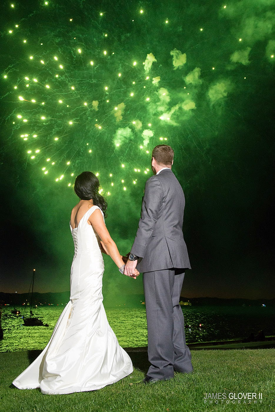Wedding Fireworks | James Glover Photography | Take the Cake Events