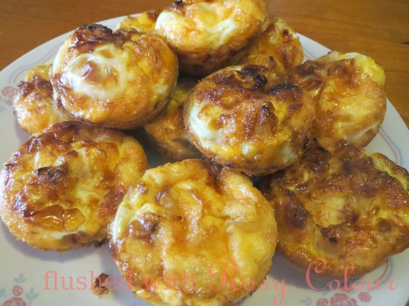 Flushed with Rosy Colour: Gluten Free Mini Quiches