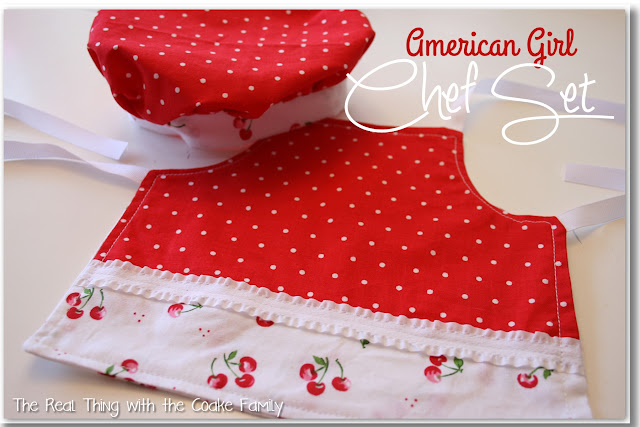 American Girl Chef Set Giveaway