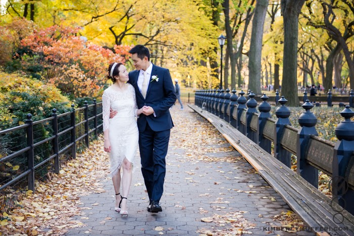 Check Out The Photos Below Of This Gorgeous Autumn Wedding In Nyc Congratulations A C