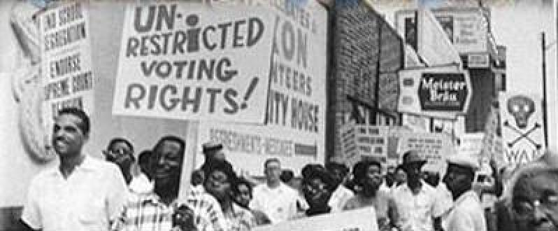 voting rights for blacks This superseded state laws that had directly prohibited black voting attacks on disfranchisement before the voting rights act in guinn v.