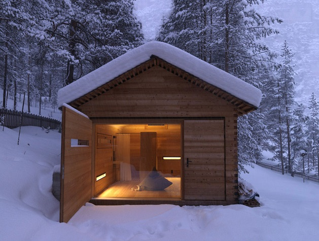 Lloyd s blog small mountain cabin in italy - Small wood homes ...