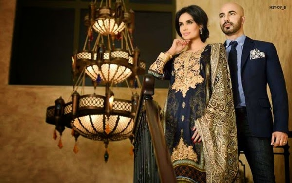 mehreen saeed hsy latest lawn collection 2015