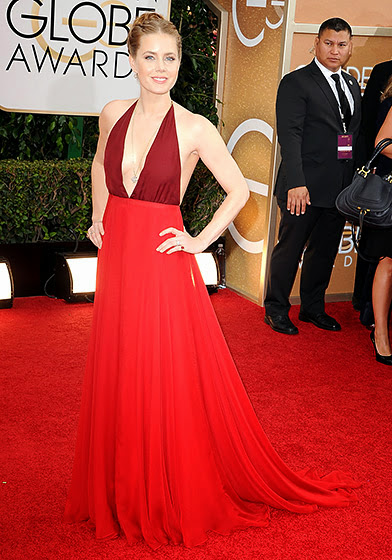 Amy Adams in Golden Globes 2014