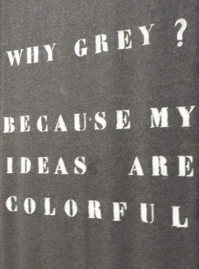 Waarom grijs?