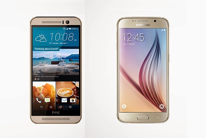 HTC One M9 vs. Samsung Galaxy S6