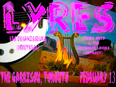 Lyres @ The Garrison, February 13