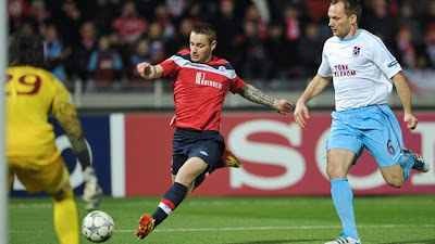 Lille 0 - 0 Trabzonspor (3)