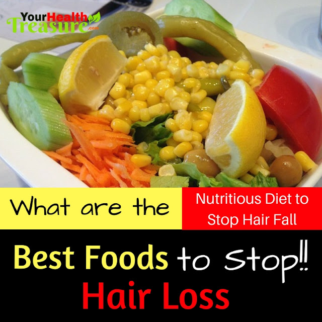 7 Foods That Stop Hair Loss