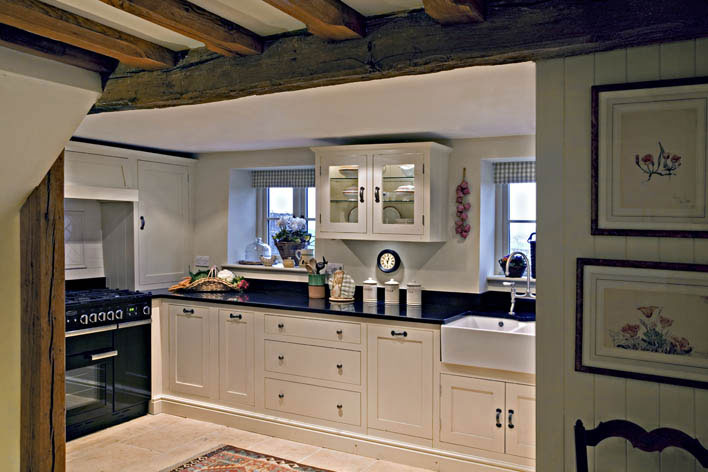 Modern country style cotswold cottage house tour Kitchen design courses in london