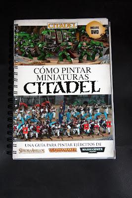 Portada de Como pintar miniaturas Citadel