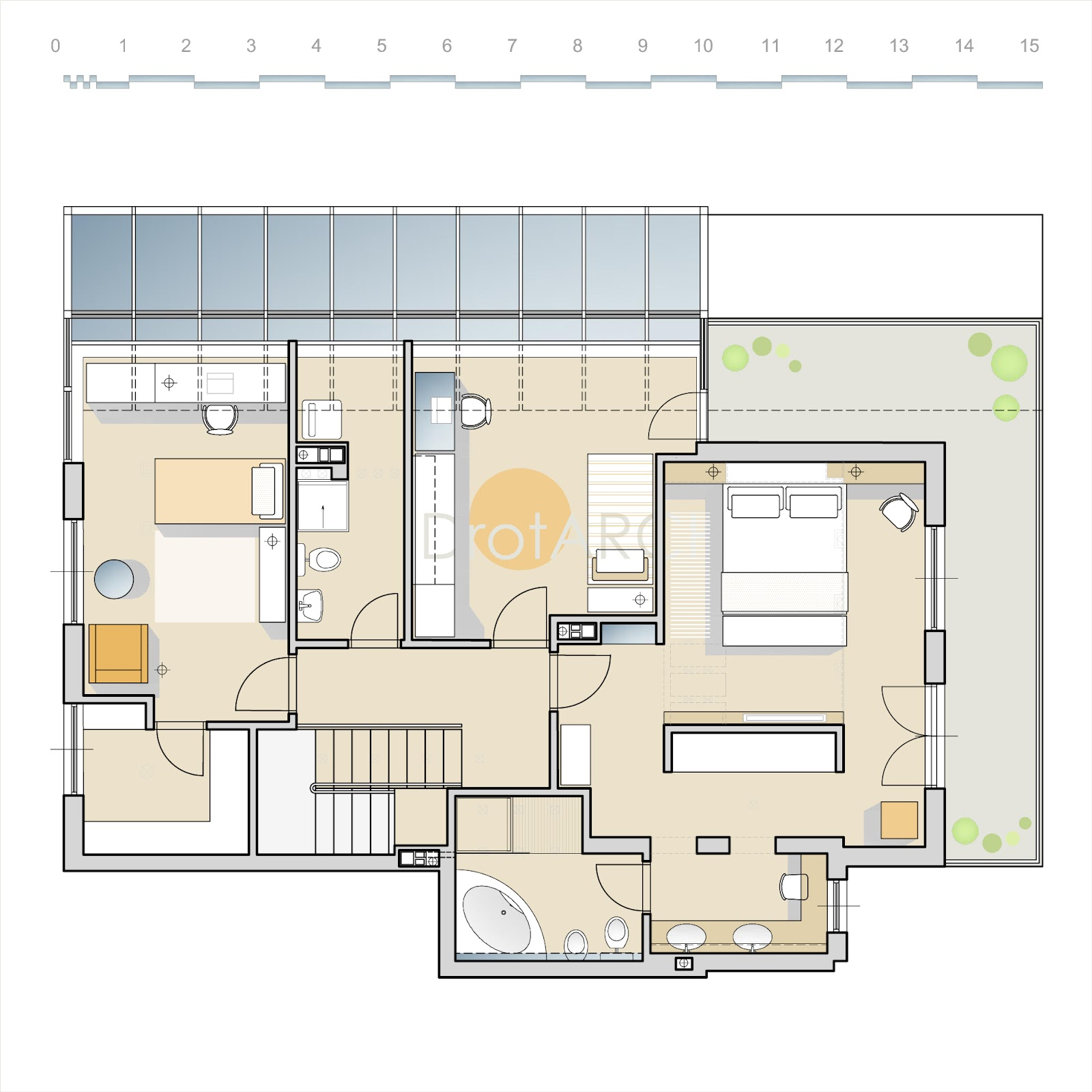 2 bedroom duplex apartment plans apartment design ideas for Duplex apartment plans