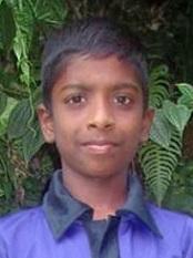 Dharshan Kumar - Sri Lanka (LK-213), Age 10