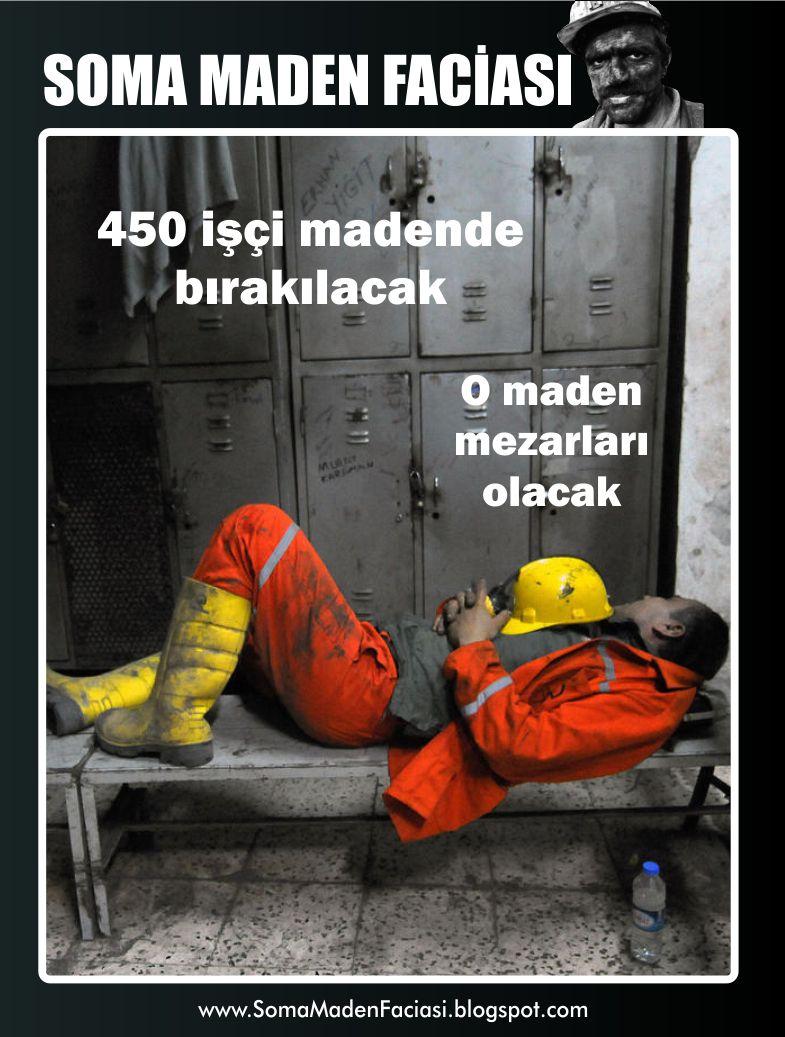 O maden mezarları olacak. 450 işçi madende bırakılacak