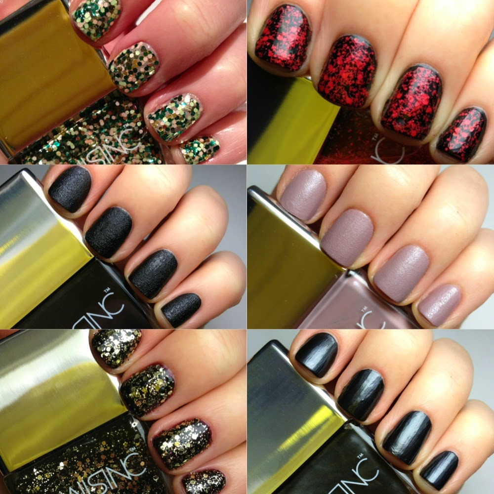 Nails Inc X Alexa Chung Fabric Collection Swatches And Review