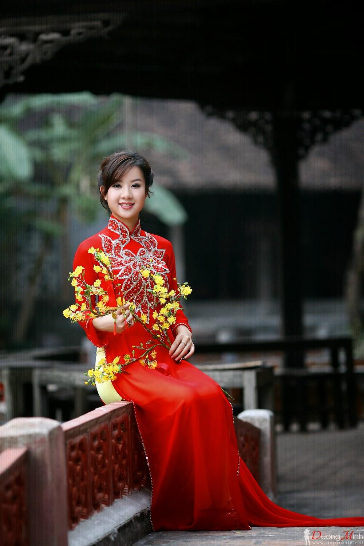 Ảnh đẹp girl xinh Áo dài truyền thống Việt Nam - Ảnh 06