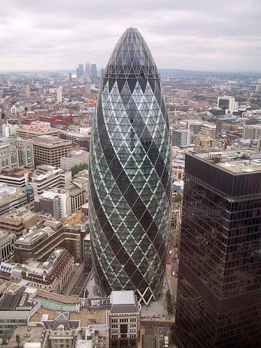 The Gherkin London.