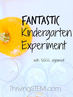 This Kindergarten science experiment gave us some surprising results!  It might just help us grow better pumpkins next year too.