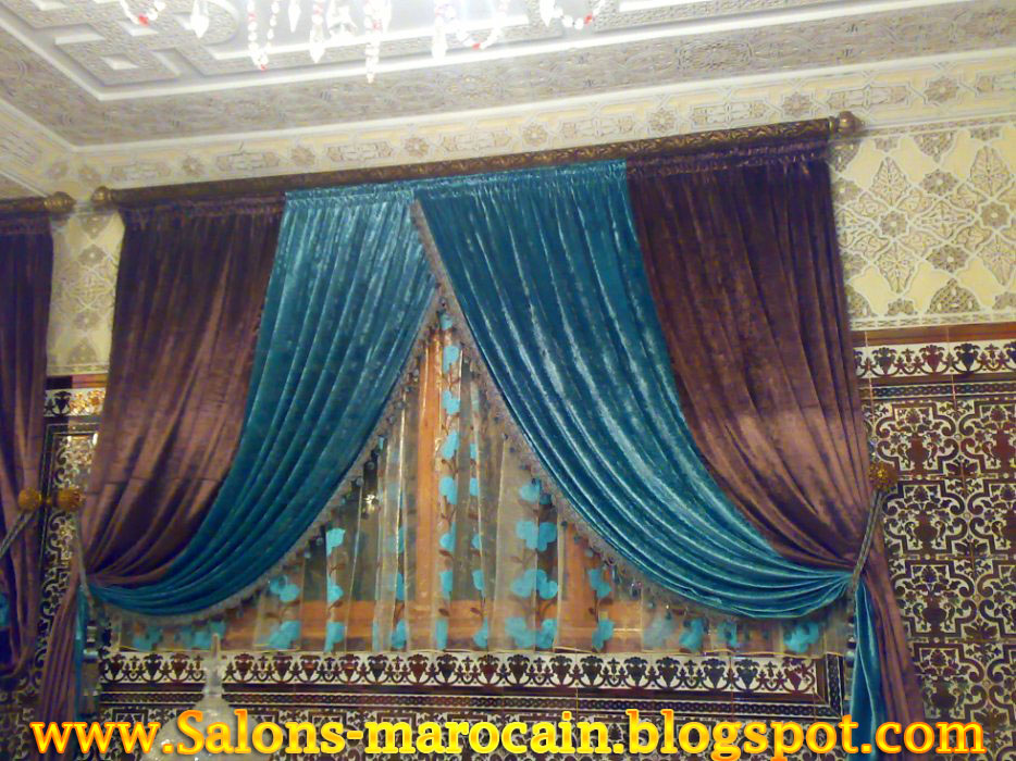 modle rideau salon moderne merveilleux modele rideaux salon marocain with modle rideau salon. Black Bedroom Furniture Sets. Home Design Ideas
