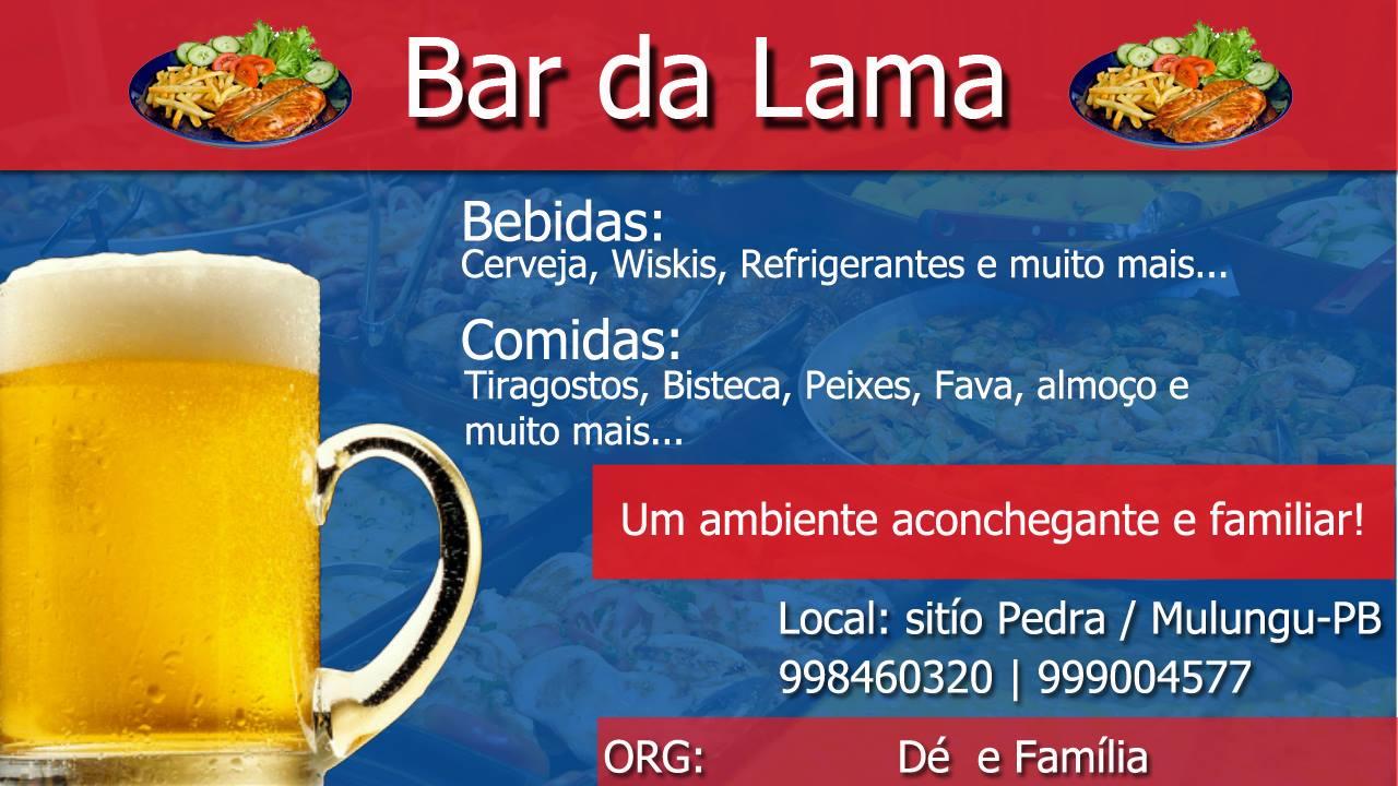 BAR DA LAMA - SÍTIO PEDRAS MULUNGU/PB