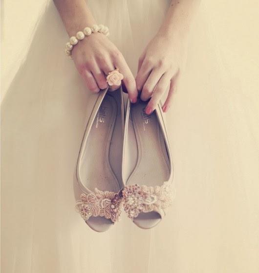gorgeous floral wedding shoes ideas