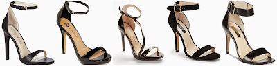 Sole Society Lindsay Strappy High Heel Sandal $39.98 (regular $79.95)  Michael Antonio Lovina Ankle Strap Platform Sandals $39.99 (regular $50.00)  Jessica Simpson Evening Sandals $43.99 (regular $88.95)  Saks Fifth Avenue BLACK Yvette Nubuck Ankle Strap Sandals $49.99 (regular $165.00)  INC Reidi Two Piece Sandals $79.99 (regular $89.50)